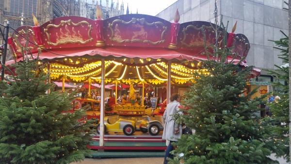 There are a lot of Carousels in the Christmas Markets throughout Germany and France.