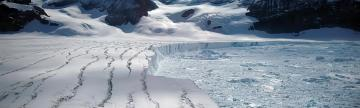 Incredible Antarctic glaciers