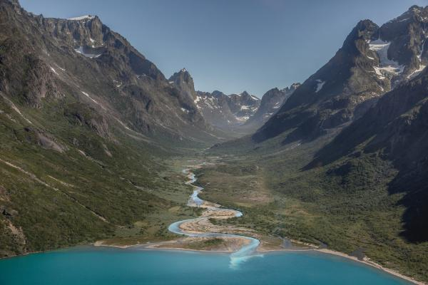 Qingua Valley in Southern Greenland