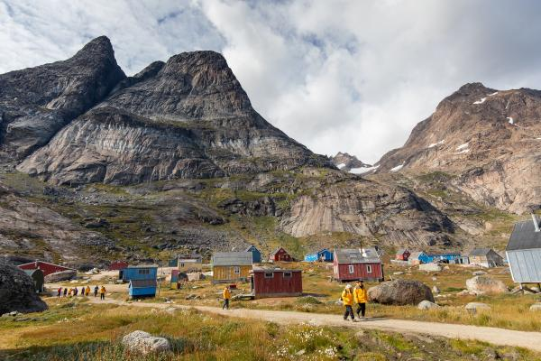 Aappilattoq Community in Southern Greenland