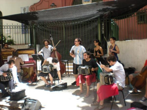 Music on the streets of Buenos Aires