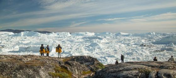 Views of the Ilulissat Icefjord