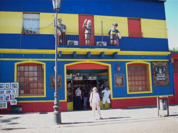 La Boca District