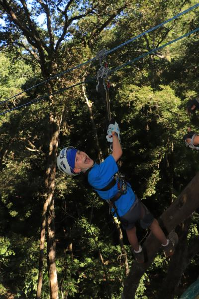 Extreme Zipline in the jungle outside Puerto Vallarta