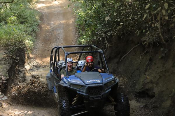 ATV in jungle outside Puerto Vallarta