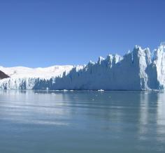 is one of three Patagonian glaciers that aren´t retreating