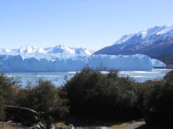 Perito Moreno is less than two hours by bus from El Calafate