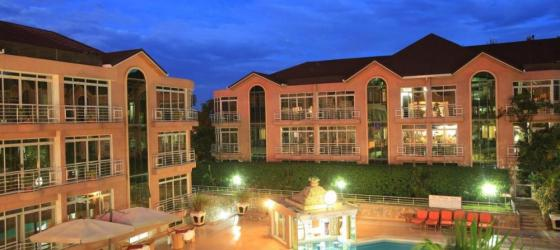 Relax by the pool at Lemigo Hotel in Kigali