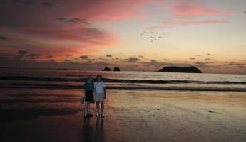 Manuel Antonio area sunset