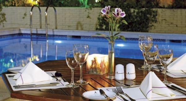 Enjoy a Meal Poolside