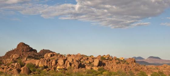Experience desert solitude and luxury at Mowani Mountain Camp