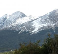 The Andes above Ushuaia