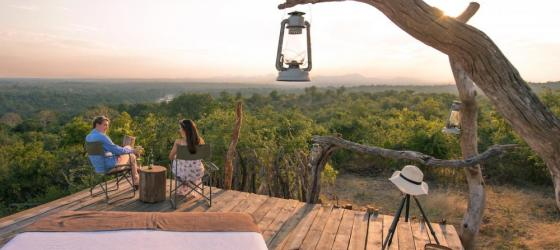 Experience the natural luxury of Mkulumadzi Lodge