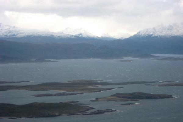 first view of Patagonia as we approached Ushuaia