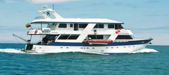 Cruise the Galapagos aboard the Daphne