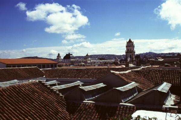 Roof tops in Sucre