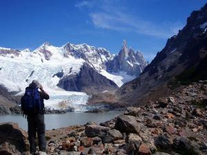 Traveler, Billy Zeballos, captures a great shot while trekking in Argentina