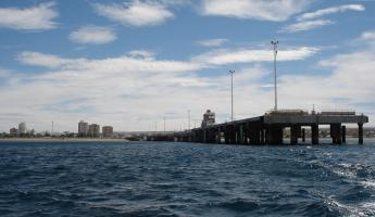 The pier at Puerto Madryn