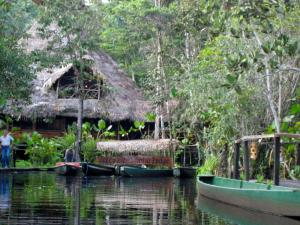 A remote welcome from Sacha Lodge, in the Ecuadorian Amazon