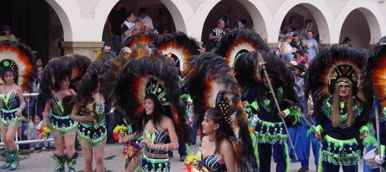 Dancers in Oruro