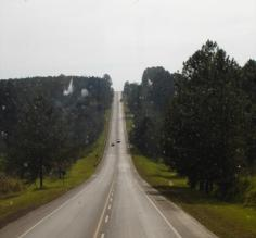 The road from Buenos Aires to Puerto Iguazu