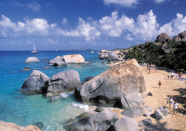 Massive rocks of Virgin Gorda
