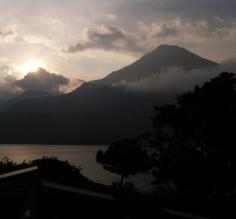 Lake Atitlan at Evening