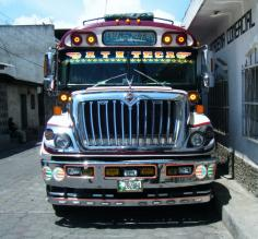 Guatemalas nicest chicken bus