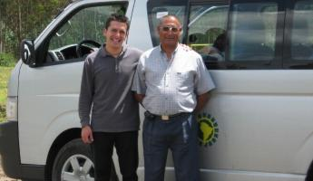 Tour Guide Luis and Driver Carlitos