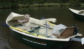 A typical Nomads drift boat