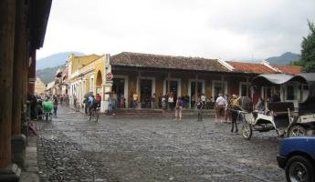 The Plaza Mayor, Antigua
