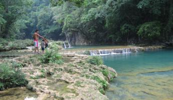 The pools of Semuc Champey