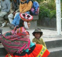 Real life in Ollantaytambo