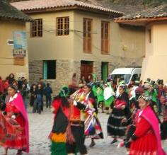 Partying in Ollantaytambo