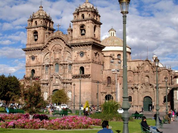 The Cathedral in Cusco