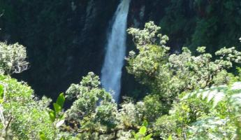 The big water  fall from the mirador