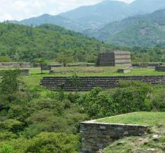 Mixco Viejo is located 40 miles from Guatemala City