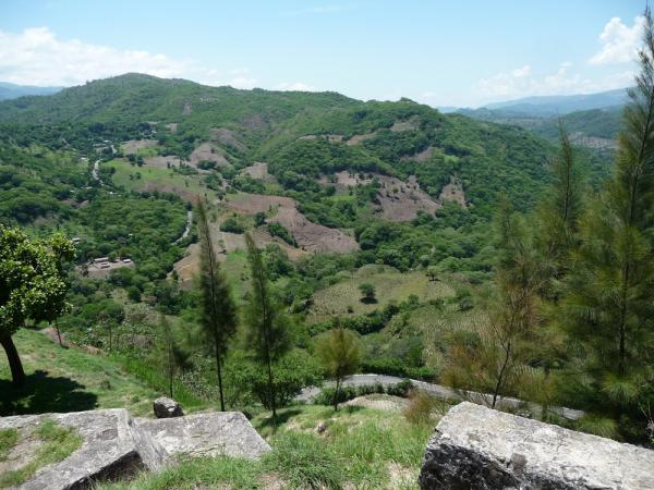 Mixco\'s mountaintop location aided in its defense