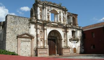 Ruins of a church