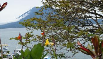 View of  Lake Atitlan from Panajachel.