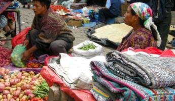 Almolonga Market is known for its vegetables