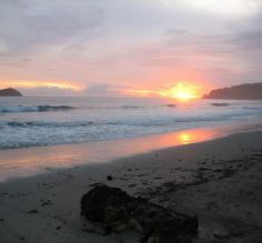 A gorgeous Costa Rican sunset
