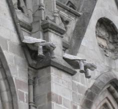 Gargoyles at the Basilica