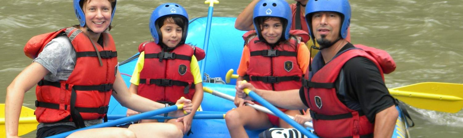Rafting with Kenneth