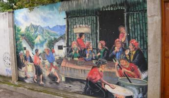 Murals beautify San Juan.
