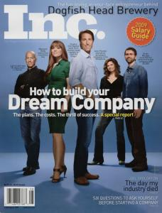 Brian on the cover of Inc. Magazine