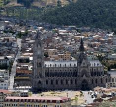 View of Old Town, Quito