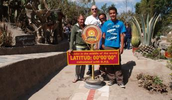 On the Equator in Quito