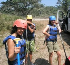 White Water Rafting Trip in Ecuador