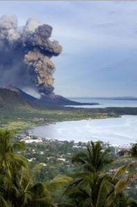 The 1994 eruption of the Tuvurvur Volcano